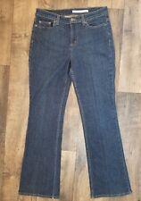DKNY Women's Flare Leg Stretch SOHO Jeans Size 8S    EUC