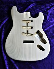 Strat style body, Poplar, unfinished, 100% UK Made - Amazing Value #1286