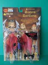 """LIGHTNING COMICS SISTERS OF DARKNESS """"DEMON SKIN LETHA"""" 6""""IN FIGURE SKYBOLT 1998"""