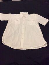Mens firetrap shirt sleeve shirt size large
