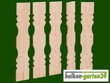 """Balkonbretter """"Berchtesgaden"""" Zaunbrett Holzbalkon Balkongeländer Holz"""