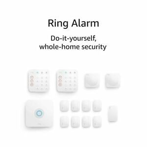 Ring Alarm 2ND GEN home security system w optional 24/7 monitoring, 14-Piece Kit