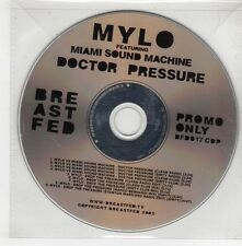 (GQ877) Mylo ft Miami Sound Machine, Doctor Pressure - 2005 DJ CD