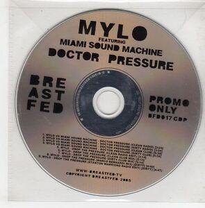 (GQ877) Mylo ft Miami Sound Machine, Doctor Pressure - 2005 DJ CD
