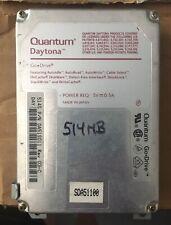 Vintage Apple 2.5 Scsi 500 Megabyte Hard Drive Powerbook Upgrad 00004000 e