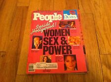 People CARRIE FISHER Women Sex Power Jackie Collins Sandra Bernhard Kathy Bates