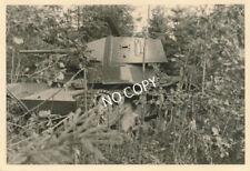 Foto WK 2 Sowjetpanzer tank Tarnung an der Memel Неман Russland Россия B 1.82