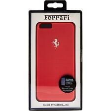 Ferrari Red Metallic Aluminium Perforated Phone Case iPhone 6 Plus/6s Plus