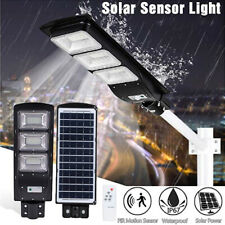 90W Solar Street Light ,Ultra Bright 90000LM Commercial Outdoor Road Lamp+Remote