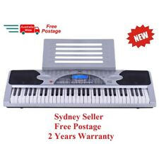 New 61 Keys Electronic Keyboard Electric Piano Digital Music LCD Display