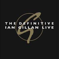 Ian Gillan - The Definitive Ian Gillan Live (Red Vinyl 2LP) NEW/SEALED