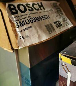 NEU BOSCH SMU69M95EU Geschirrspüler 60 cm Unterbaugerät - Edelstahl
