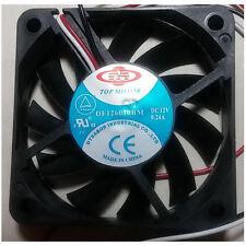 Top Motor DF126010BM-3G 60x10mm Ball Bearing Fan, 3pin