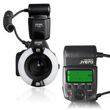 JY670 Macro Ring Flash/Light LED for Canon Nikon Pentax Panasonic SLR Camera