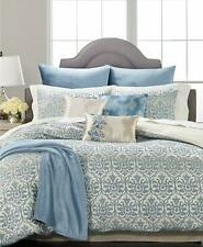 Martha Stewart Collection Pucker Damask 10 Pc Queen Comforter Set Multi $360