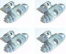 ♥ஜ♥ LEGO® Zubehör: 4x Waffenhalter silber/ Schulterpolster u.a Ninjago NEU ! ♥ஜ♥