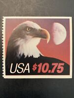US Stamp Scott #2122, 1985, April. 29, $10.75, Eagle & Half Moon⚜️⚛️💠