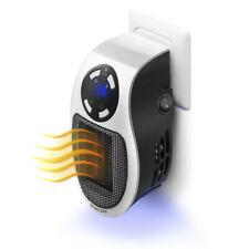 Digitaler Heizlüfter 500W Steckdose 220V Mini Heizung Elektro Heizgerät Timer