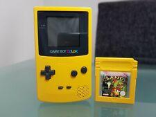 Nintendo Gameboy Color Gelb Konsole Game Boy mit Donkey Kong Land 2