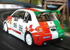 Nsr Fiat Abarth 500 Corse nº 55 en 1:32 también para carrera Evolution 800015sw