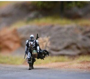 Mandalorian Starwars H0 Minifigur miniatur Nicht Preiser noch faller busch