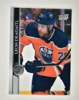 2020-21 UD Series 2 Base Clear Cut #326 Leon Draisaitl - Edmonton Oilers