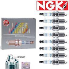 8 - NGK Laser Iridium Plug Spark Plugs 2004-2005 Jaguar Vanden Plas 4.2L V8