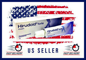 US SELLER Hirudoid Forte Cream Varicose Scars Bruises Keloid Stretch Marks 40 G
