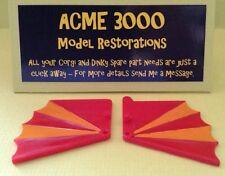 Corgi 266 Chitty Chitty Bang Bang Replacement Repro Pair of Side Plastic Wings