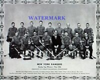 1933 New York Rangers Stanley Cup Champions Team Picture 8 X 10 Photo Free Ship