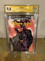 Batman #24 CGC SS 9.8 Signed by David Finch & Tom King
