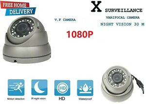 2MP Full HD 1080P Dome CCTV Camera Sony Chipset 2.8-12mm VF Zoom Verifocal Lens