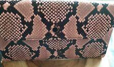 Lk Bennett Bag Pink Snake Skin Affect