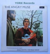 EWAN MACcOLL & PEGGY SEEGER - The Angry Muse - Ex Con LP Record Argo ZFB 65