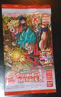 DRAGON BALL Z GT DBZ HEROES PROMO PACK CARD PRISM CARTE GDPC-01 SON GOKU SEALED
