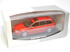 Audi RS6 C5 AVANT in rot rouge rosso roja red, Minichamps in 1:43 DEALER boxed!