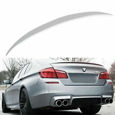 BMW 5 SERIES F10 ABS PLASTIC  2010-2017 REAR BOOT BOOT LIP SPOILER M5 STYLE