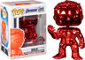 Funko Pop Vinyl Marvel Avengers  Endgame Hulk Red Chrome