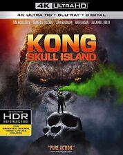 KONG SKULL ISLAND (4K ULTRA HD) - Blu Ray -  Region free
