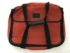 """Pyrex Portable Large 16"""" Casserole Hot/Cold Carrier Bag Insulated Brick Red TS9"""