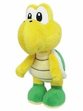 "Little Buddy Nintendo Super Mario Koopa Troopa 7"" Stuffed Plush Authentic USA"