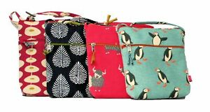 Lua Ladies Cotton Small Cross Body Purse Bag - Various Designs