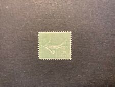 Timbre France, N°234, Semeuse lignée 65c verte, Neuf**, Cote: 17€
