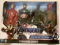 New Marvel Avengers Captain America Iron man Iron Spider Black Panther