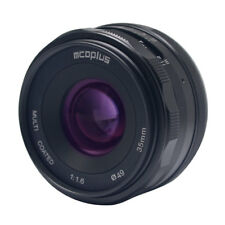Mcoplus 35mm f1.6 Lens APS-C for Sony NEX3/5/6/7 A5000 A5100 A6000 A6100 A6300