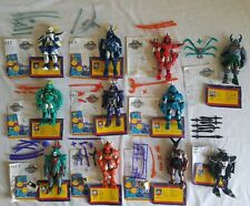 1995 RONIN WARRIORS Playmates Action Figures COMPLETE Set all 11 Lot ACCESSORIES