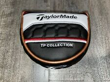 NEW TAYLORMADE GOLF TP MALLET RH / LH COPPER BLACK PUTTER HEADCOVER
