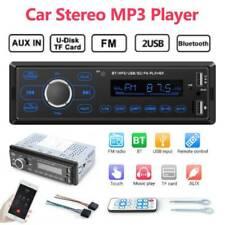 Single DIN Car Stereo MP3 Player Bluetooth FM Radio Receiver In Dash Head Unit