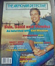 ARMCHAIR DETECTIVE magazine mystery Winter 1996 Carl Hiaasen