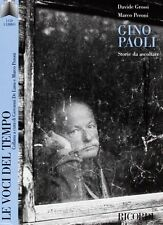 DvD LE VOCI DEL TEMPO CD +  LIBRO Gino Paoli   ......NUOVO